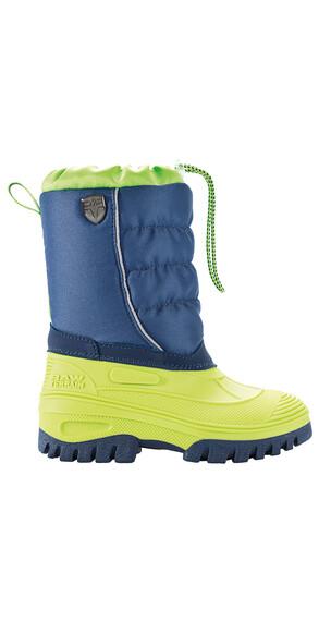 CMP Campagnolo Hanki Snow Støvler Børn grøn/blå